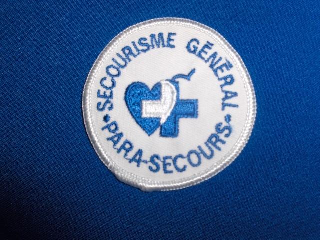 Écusson à Coudre Secourisme Général Para-Secours