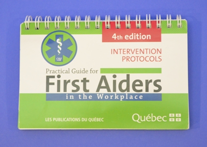 Practical Guide for First Aiders, 4e edition