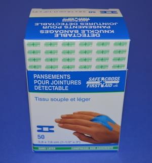 Pansements Bleu en Tissu, Articulations (bte/50)