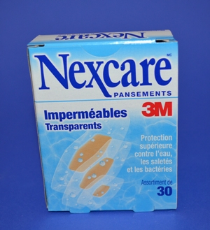Pansements Nexcare Imperméables Transp. (bte/30)