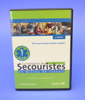 Programme de Formation  CNESST sur DVD, 3e édition