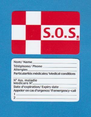 Carte Médicale S.O.S.