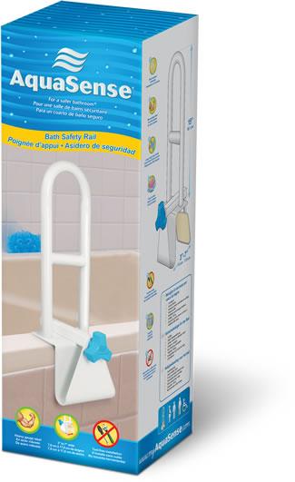 Poignée d'appui pour baignoire, AquaSense