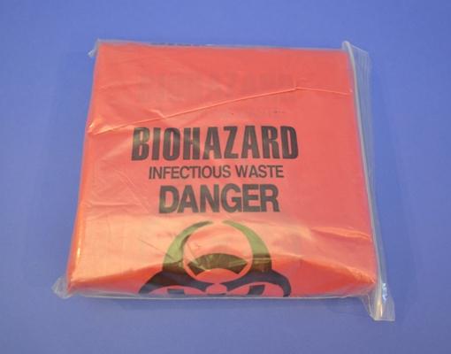 Sacs Bio-Hazard, 37.9 Litres (50)