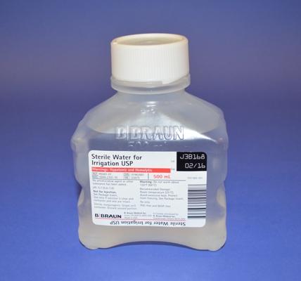 Eau Stérile pour Irrigation (500 ml)