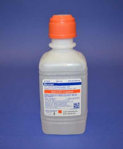 Solution de Chlorure de Sodium (500 ml)