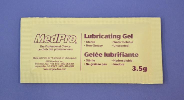Sachets de Gel Lubrifiant pour Thermo. (pqt/12)