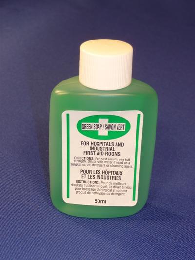 Solution Antiseptique, Savon Vert (50 ml)