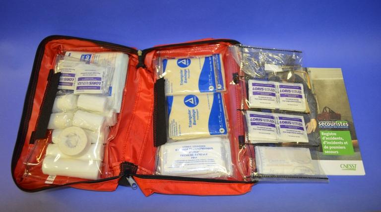 Trousse (Écononomique) Établissements, sac nylon