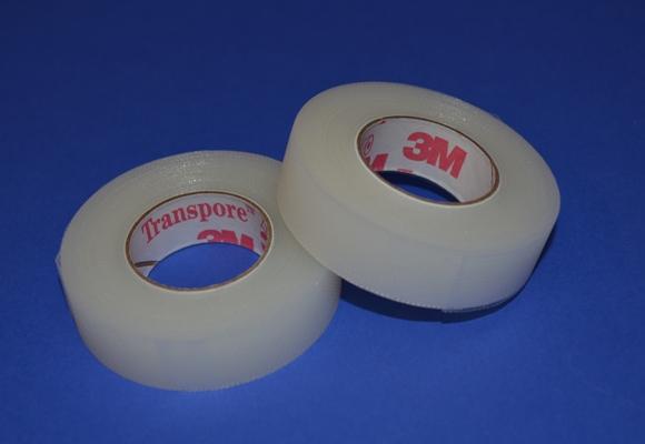 Diachylon 3M Transpore* Hypoallergène ½'' x 10 vgs