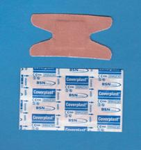Pansements Coverplast* Tissu, Jointures (pqt/100)