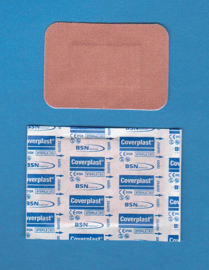 Pansement en Tissu Coverplast*, Rectangulaire