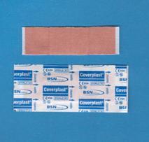 Pansements Coverplast* Tissu, Régulier (pqt/100)