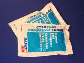 Compresses Froides Instantanées, 5 x 9'' (cs/24)